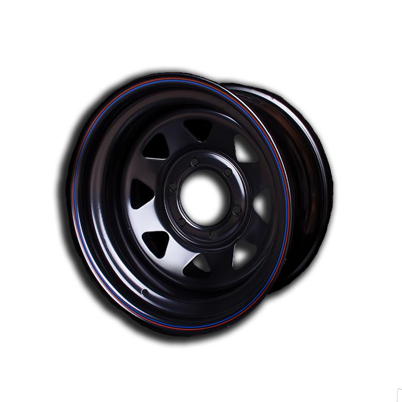 Диски Диски Toyota/Nissan/Mitsubishi 6x139.7 Диски R15: Диск колесный Off-Road-Wheels ORW 15х7 6х139.7 ет-15 черный d110мм