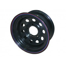 Диски Диски Уаз/Suzuki 5х139.7 Диски R15: Диск колесный Off-Road-Wheels ORW 15х8 5х139.7 ет-19 черный d110 мм. с круглыми отверстиями