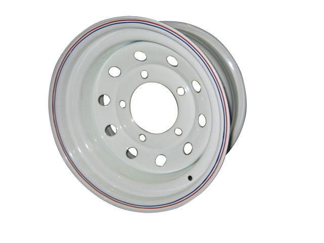Диски Диски Уаз/Suzuki 5х139.7 Диски R15: Диск колесный Off-Road-Wheels ORW 15х8 5х139.7 ет-3 белый d110 мм. с круглыми отверстиями