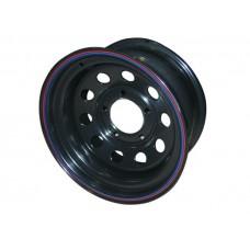 Диски Диски Уаз/Suzuki 5х139.7 Диски R15: Диск колесный Off-Road-Wheels ORW 15х8 5х139.7 ет-3 черный d110 мм. с круглыми отверстиями